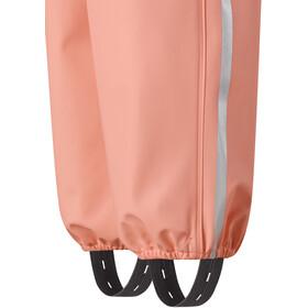 Reima Lammikko Pantalon imperméable Fille, coral pink